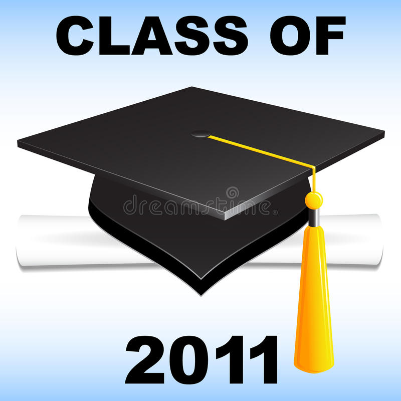 Download Class of 2011 stock vector. Illustration of blue, achievement - 15165584