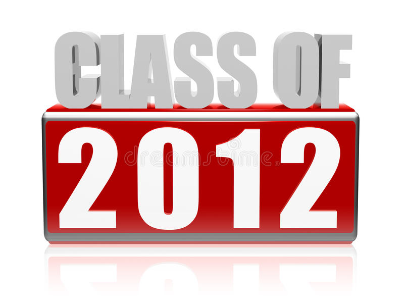 Download Class of 2012 stock illustration. Illustration of educate - 25038174