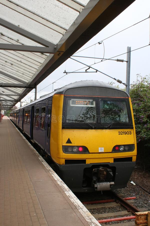 Free Class 321 Electric Train, Bradford Forster Square Royalty Free Stock Photo - 122206595