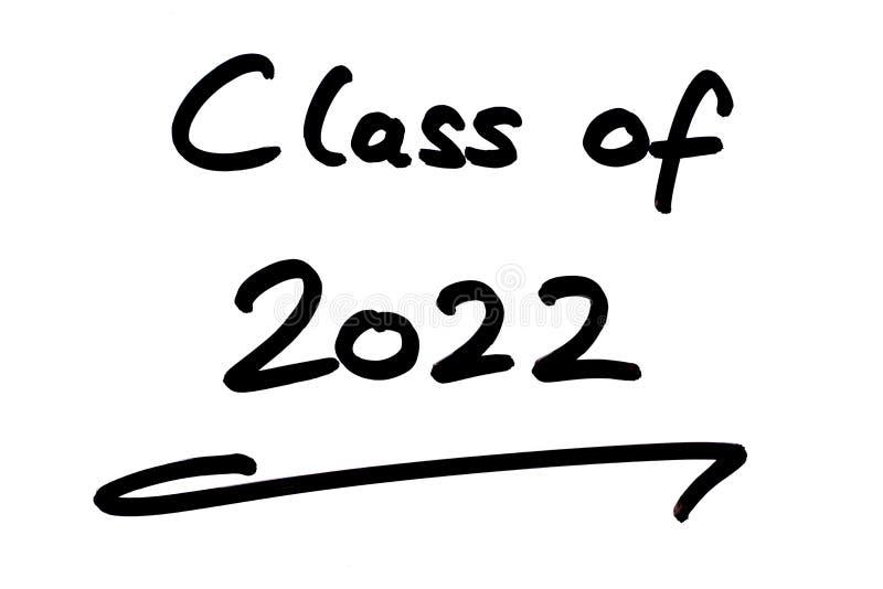 Class of 2022 stock illustration. Illustration of notice - 181279176