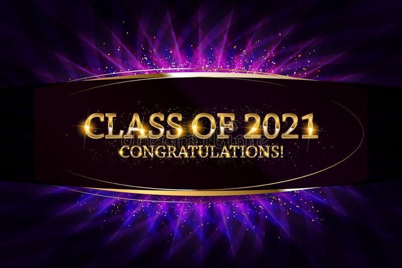 Class Of 2020 Congratulations Graduates Stock Illustration ...