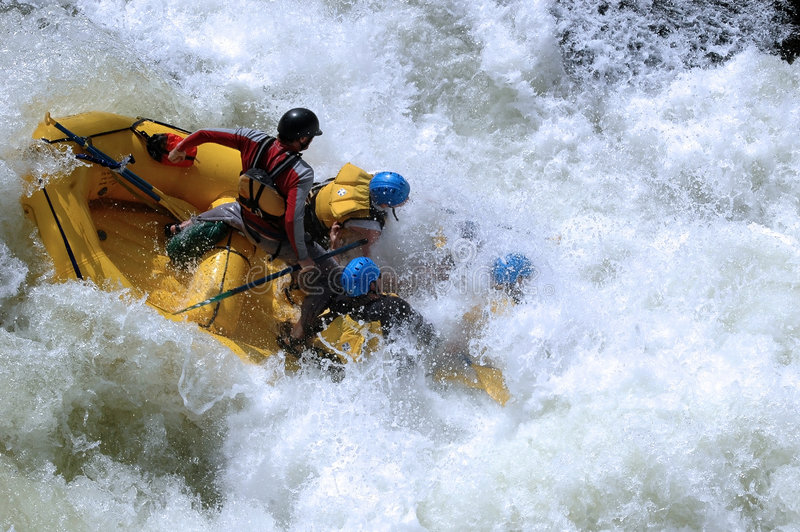 Class V Whitewater stock photos