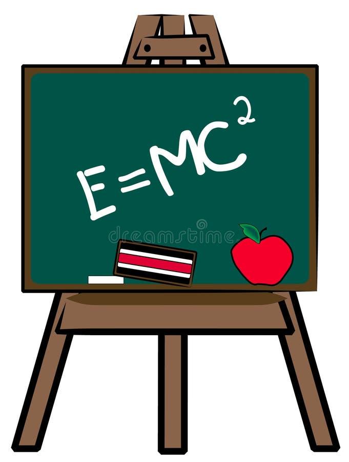 Classe da ciência na escola ilustração do vetor