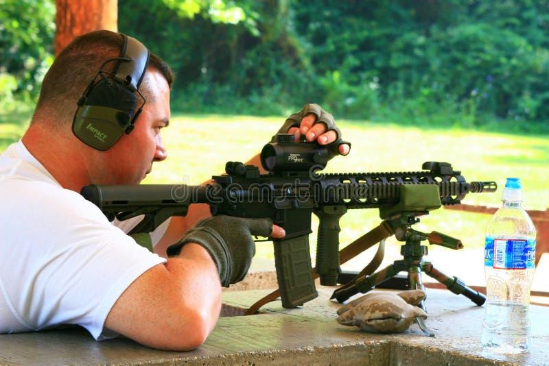 Classe das armas de fogo foto de stock royalty free