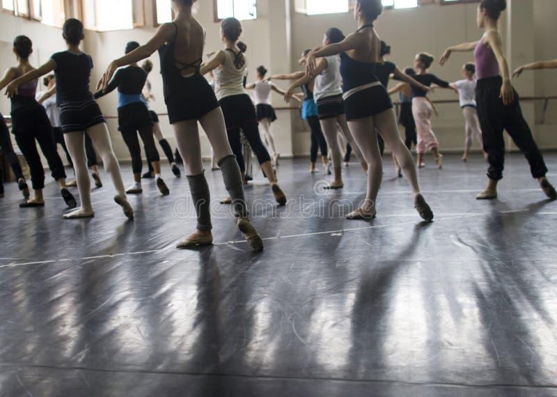 Classe de ballet image libre de droits