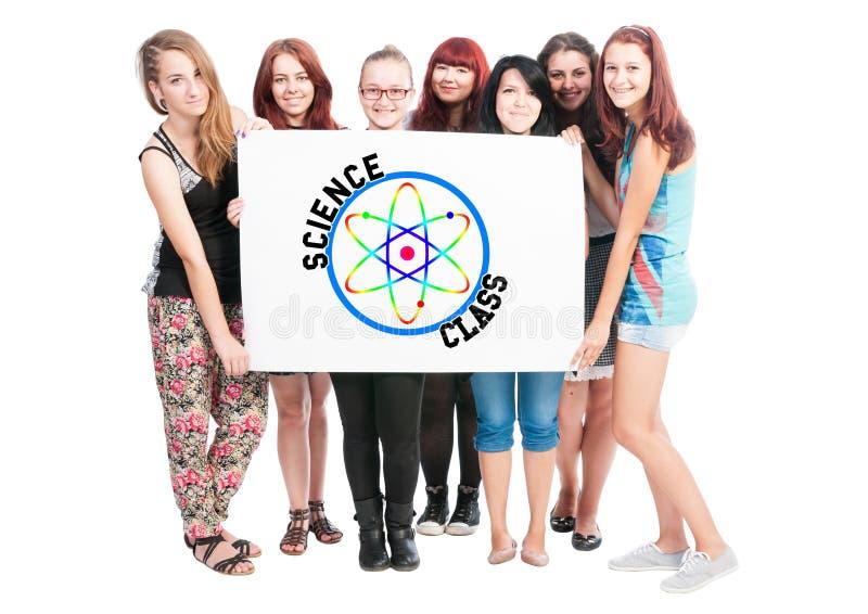Classe de la Science image libre de droits
