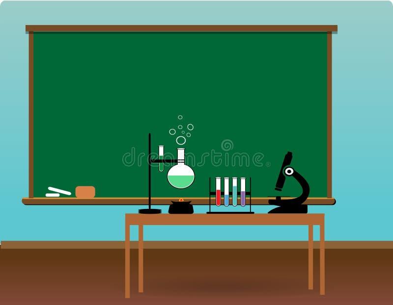 Classe di scienza fotografia stock