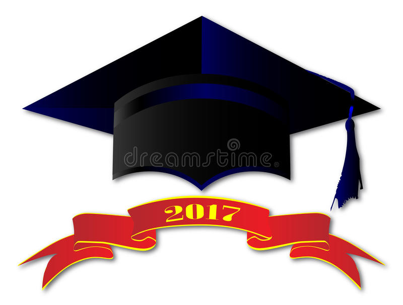 Classe do tampão de 2017 ilustração stock