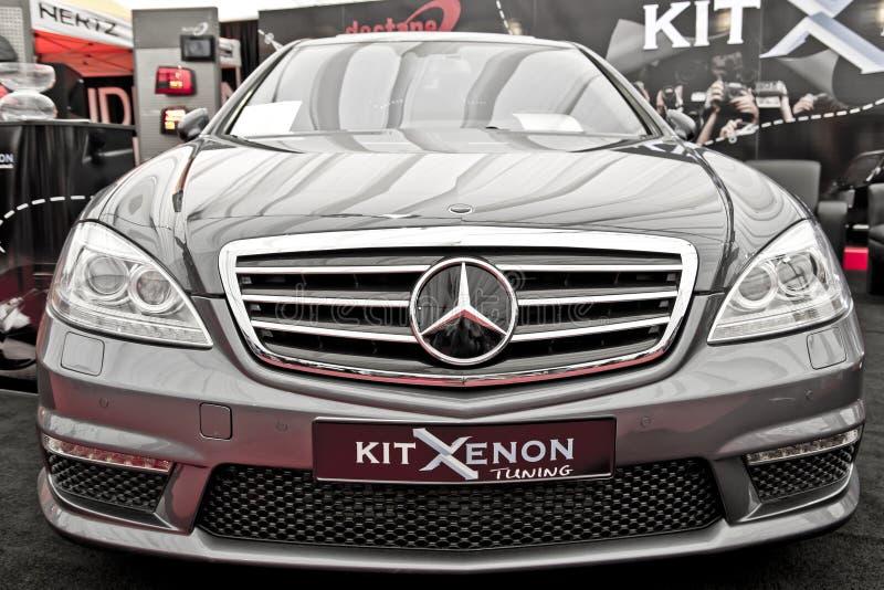 classe Mercedes s w221 στοκ εικόνες με δικαίωμα ελεύθερης χρήσης