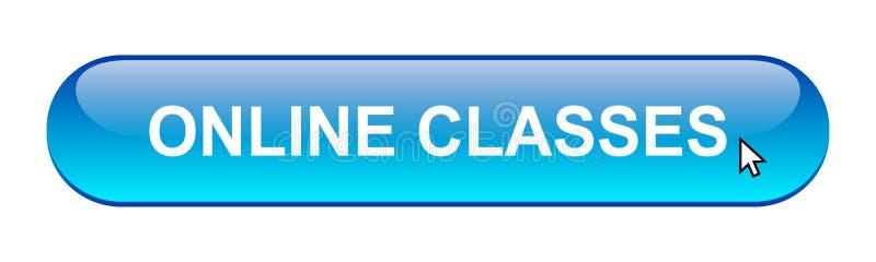 Classes en ligne illustration stock