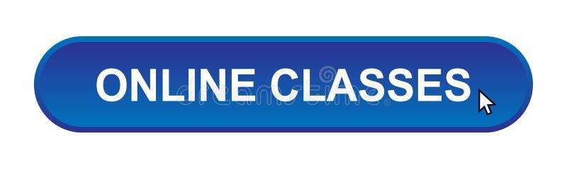 Classes en ligne illustration libre de droits