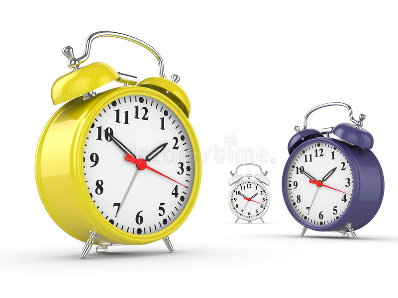 Download Classic alarm clock stock illustration. Illustration of fashioned - 11080853