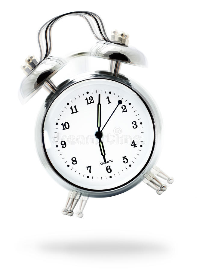 Classic Alarm Clock Royalty Free Stock Image