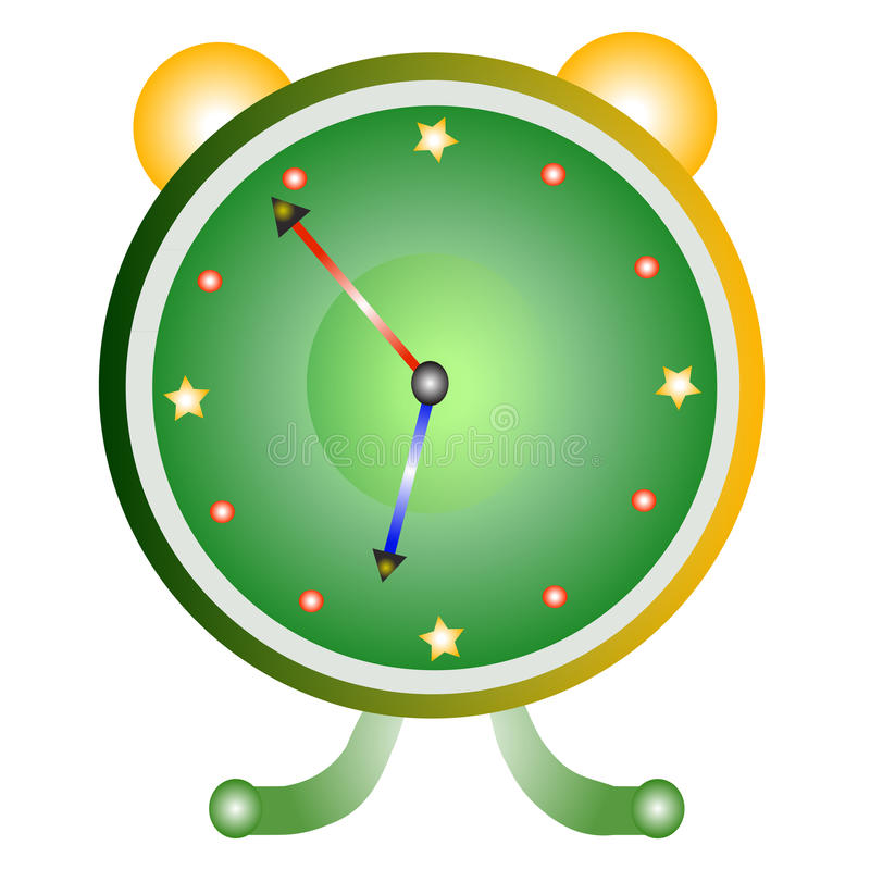 Download Classic alarm clock stock vector. Illustration of time - 23554051