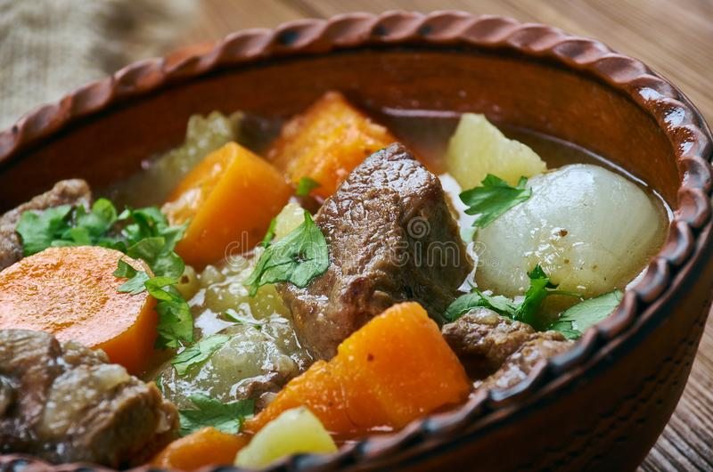 Amish Beef Stew royalty free stock images