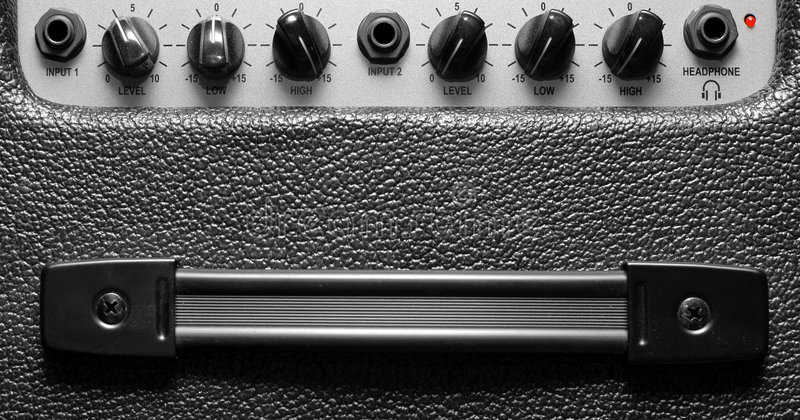 Download Classic amplifier stock image. Image of level, electronics - 3852653