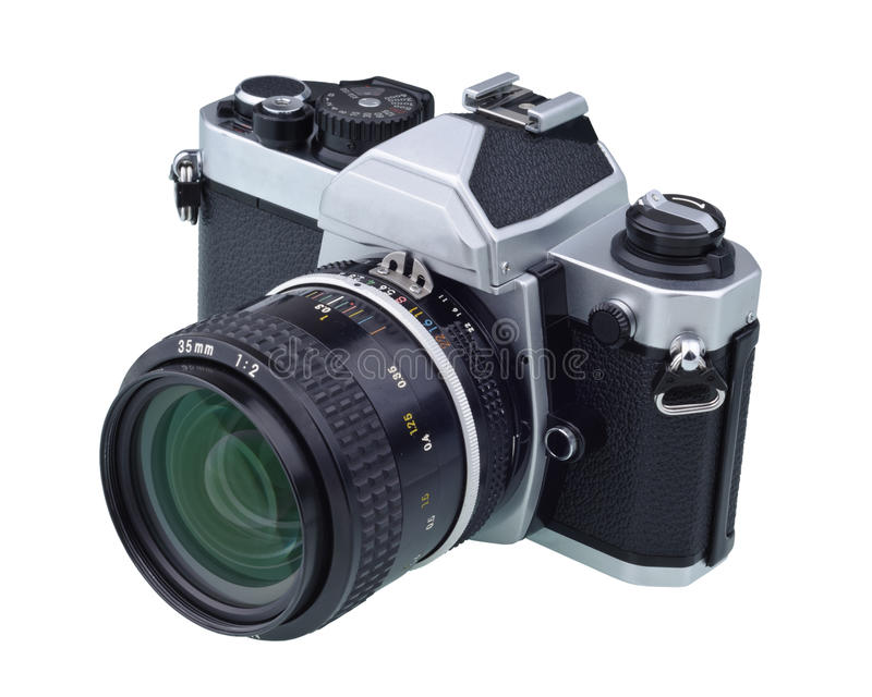 Classic And Antique Camera Royalty Free Stock Photo