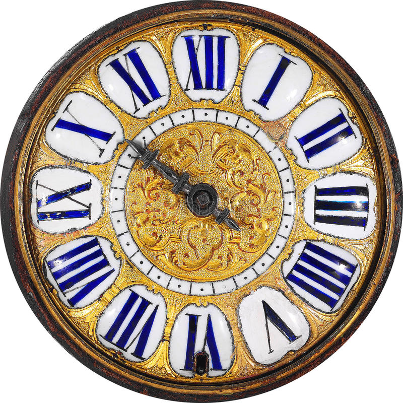 Free Classic Antique Clock Royalty Free Stock Photos - 12439638
