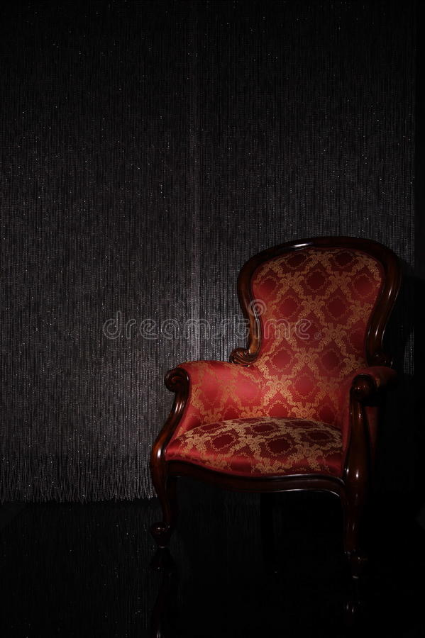 Classic Armchair Stock Images