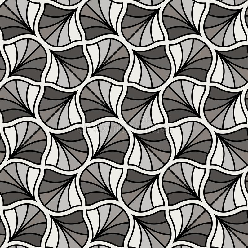 Classic Art Deco Seamless Pattern. Geometric Stylish Texture. Abstract Retro Vector Texture. Vector abstract seamless pattern. Geometric classical background stock illustration