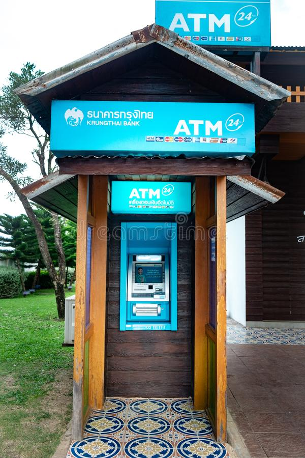 Classic ATM royalty free stock photography