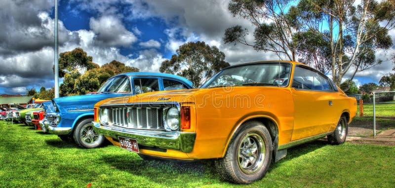 Classic Australian Chrysler Valiant royalty free stock photography