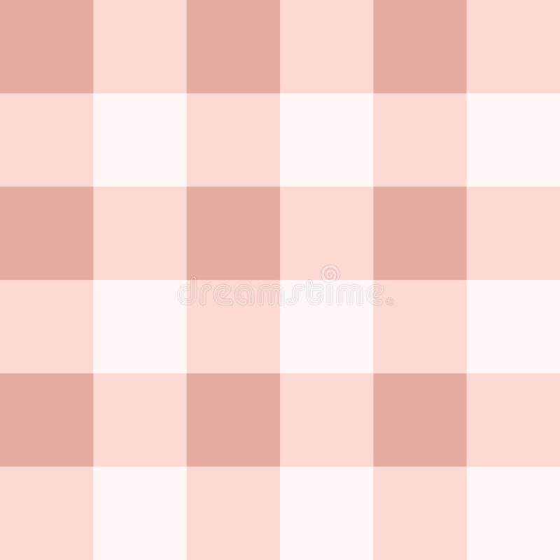 Seamless plaid pattern in pink colors royalty free stock photo