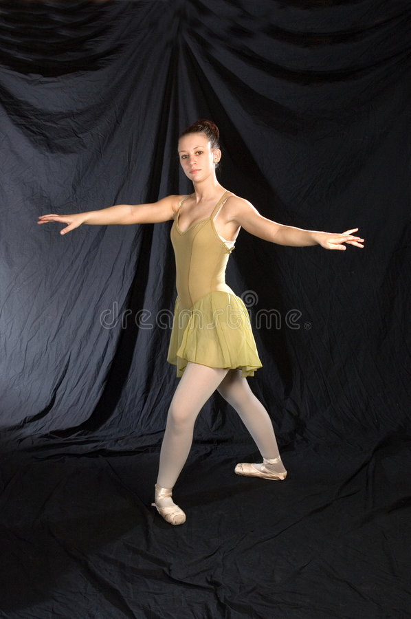 Classic Ballet Pose royalty free stock image