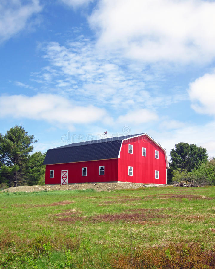 Download Classic Barn stock photo. Image of yard, building, barn - 19906640