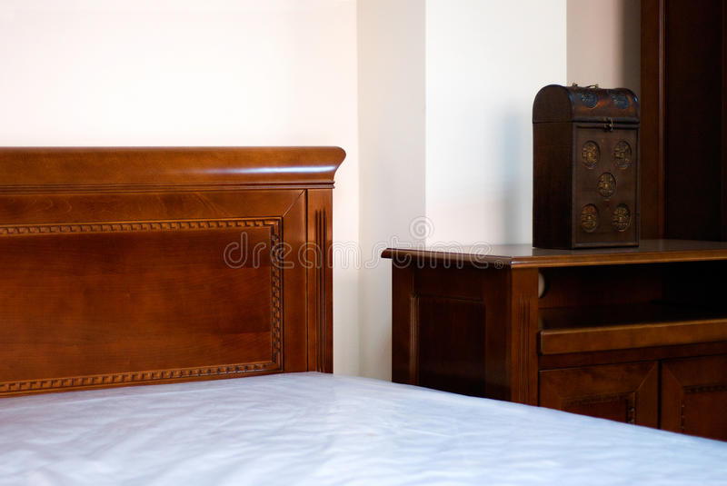 Classic Bedroom Detail royalty free stock photography