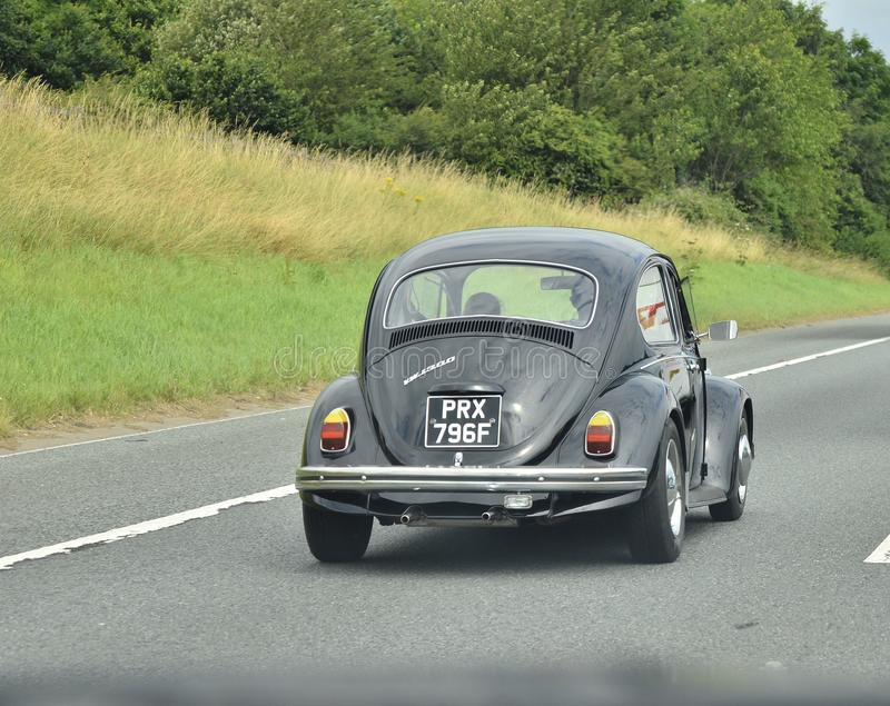 Classic beetle car royalty free stock image