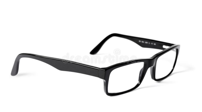 Classic Black Eye Glasses Royalty Free Stock Images