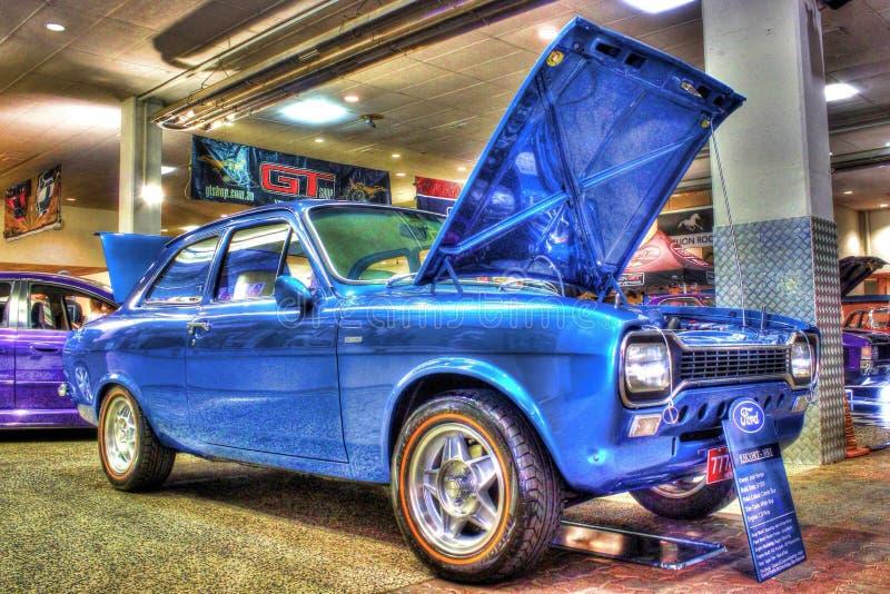 Classic 1970s Ford Escort MK1 stock photos