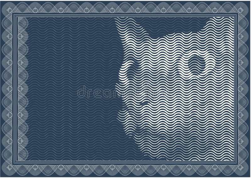 Download Classic Border For Diploma Or Certificate / A4 Stock Vector - Illustration of line, mammal: 6648585