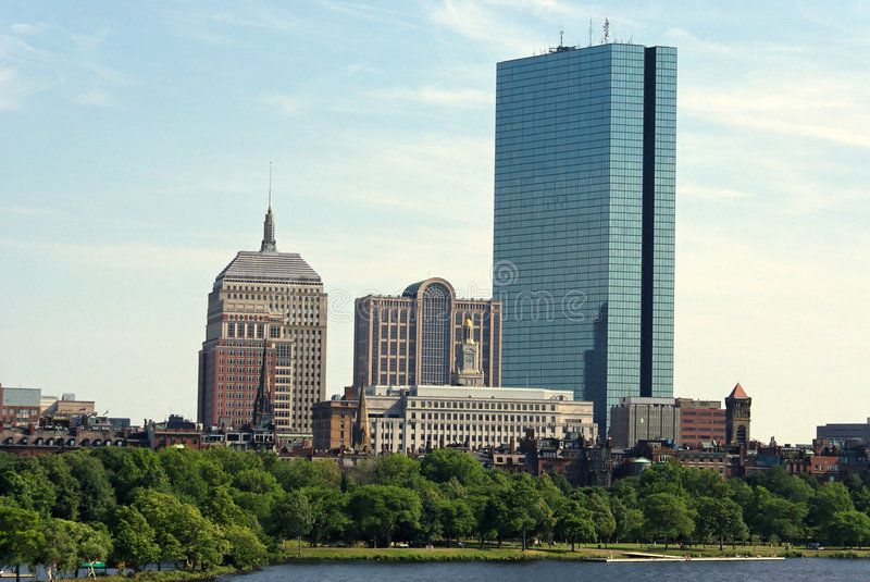 Download Classic boston stock image. Image of trees, buildings - 2839919