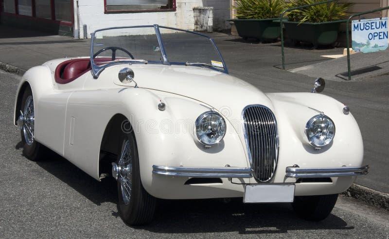 Classic British Sports Car Stock Photo