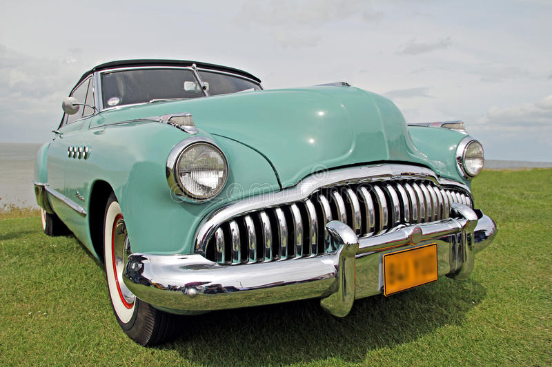 Classic Buick Eight Roadmaster Royalty Free Stock Photography
