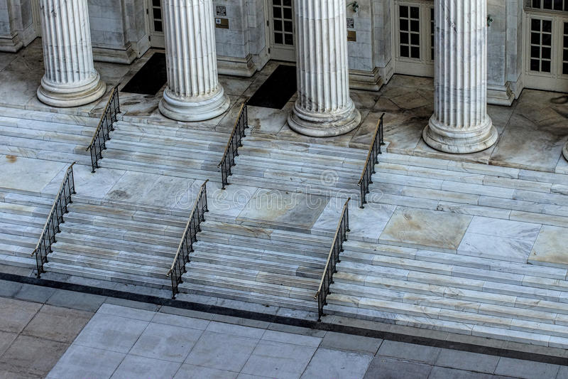 Classic Building With Marble Pillars Free Public Domain Cc0 Image