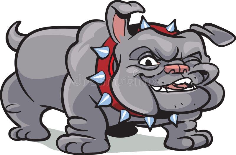 Classic bulldog illustration