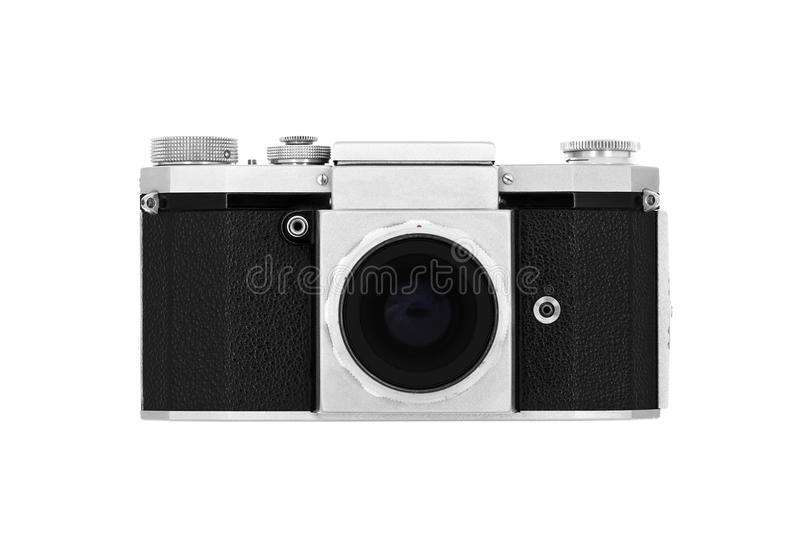 Download Classic camera on white stock photo. Image of camera - 25120000