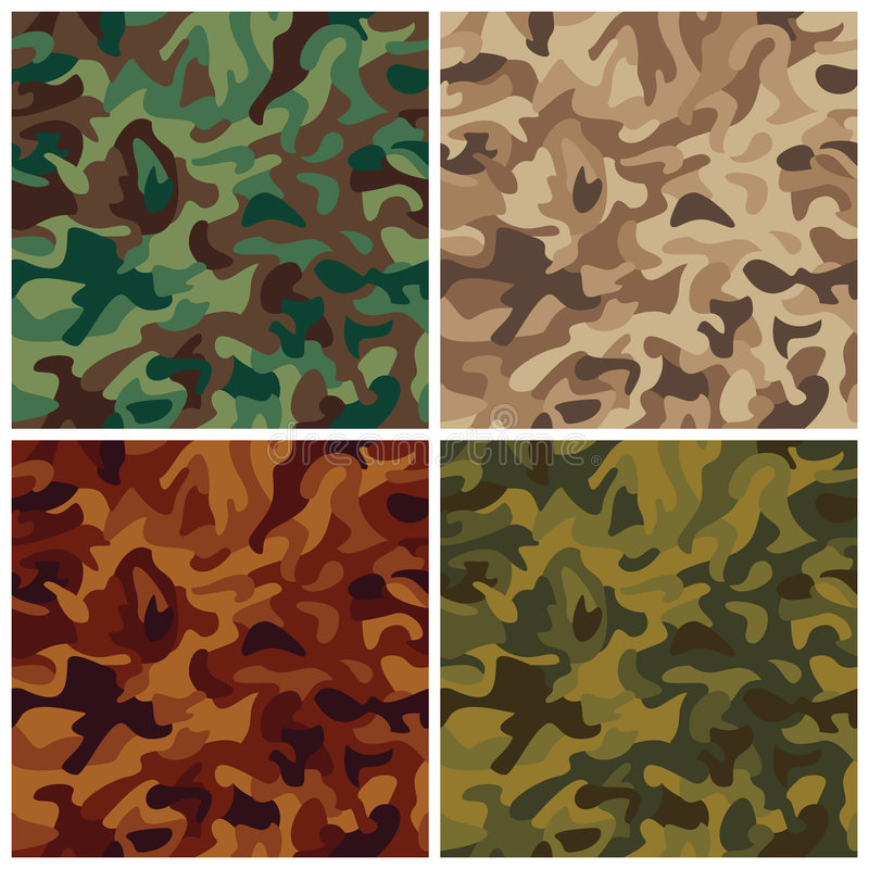 Free Classic Camouflage Stock Photos - 6105863