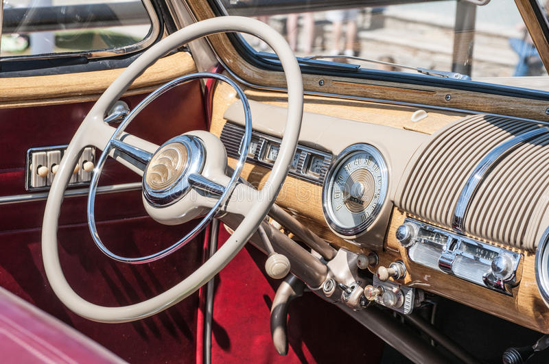 Download Classic Car stock image. Image of luxury, interiorl, front - 33444371