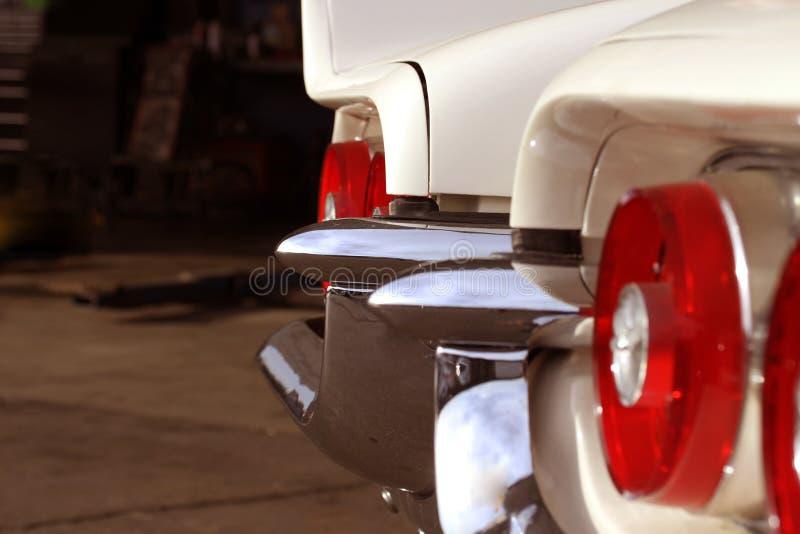 Classic Car Bumper stock photo