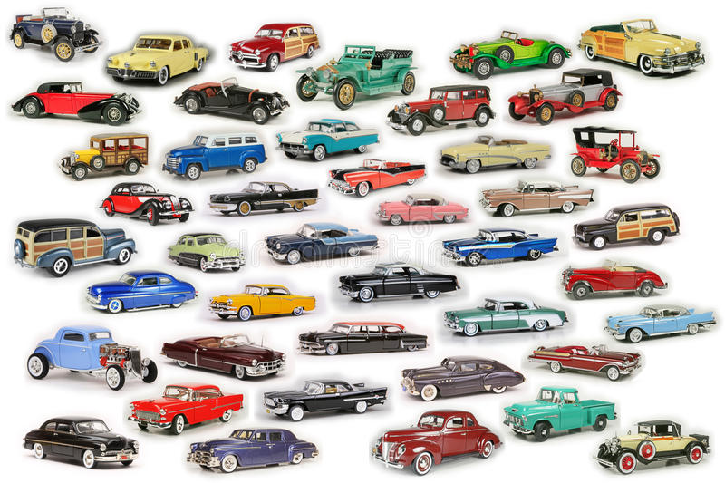Classic Car Composite royalty free stock photos