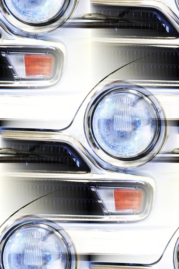 Classic car detail abstract royalty free stock images