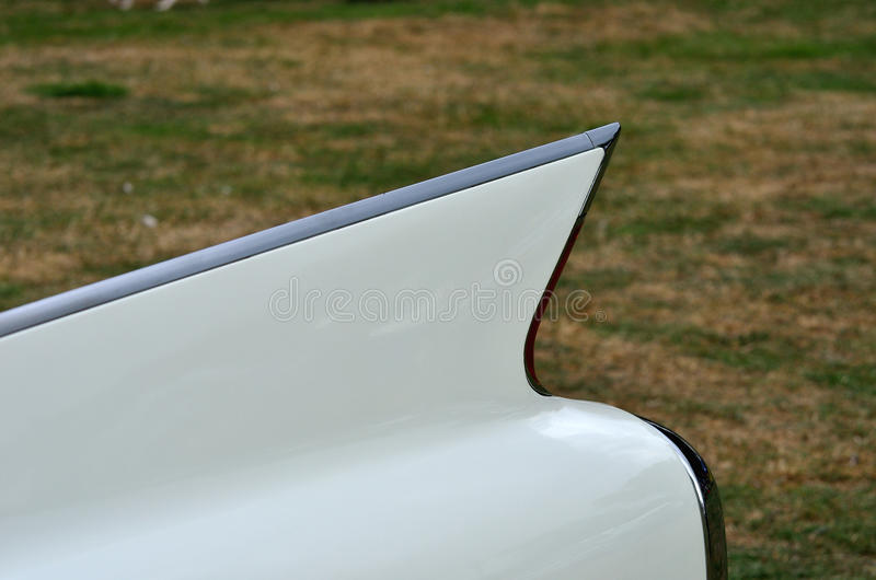 Download Classic car fin stock image. Image of tail, 1960s, chrome - 33573545