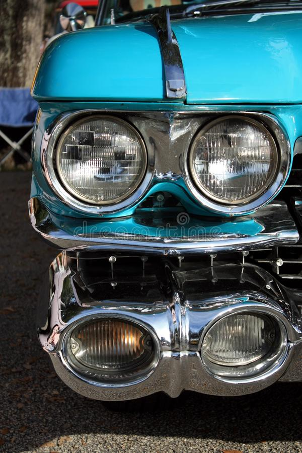 Classic Car Headlight Royalty Free Stock Images