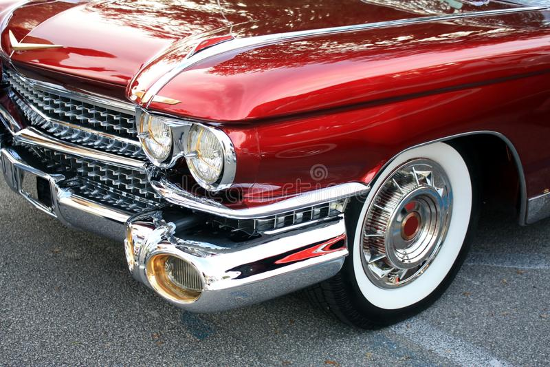 Classic Car Headlight Royalty Free Stock Photo