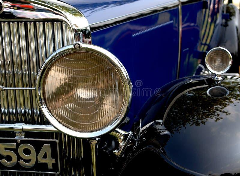 Classic Car Headlight royalty free stock image