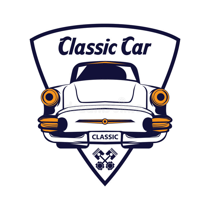 old fashioned classic car logo mold classic cars ideas boiq info rh boiq info muscle car emblem